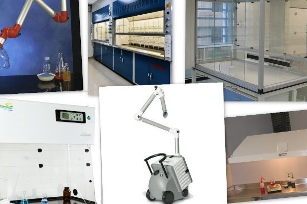 Chemical Fume extraction strategy for making lab safe