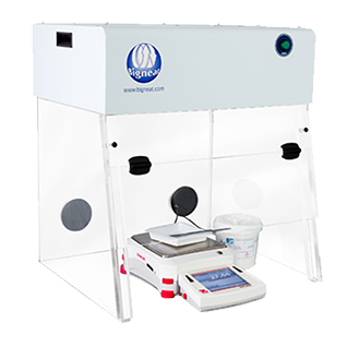 Safe and Reliable Bigneat Powder Handling Cabinets for protection from particles