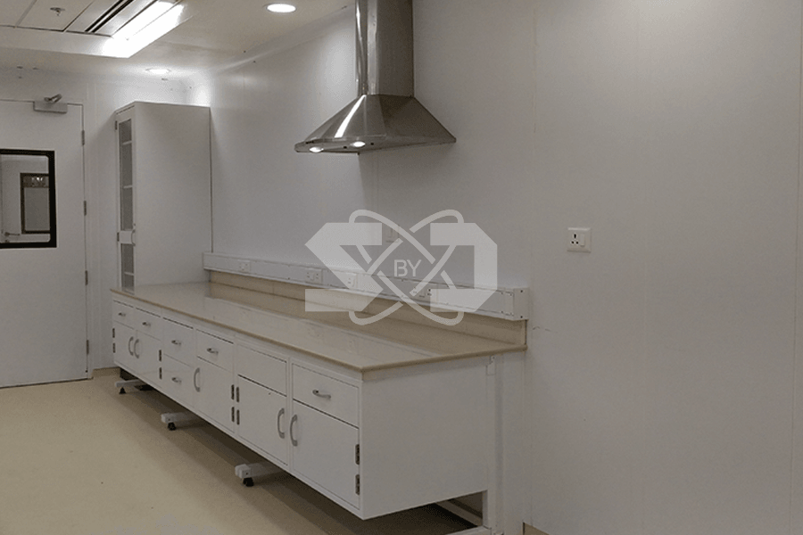 HVAC in laboratory